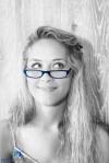 Blue glasses 1