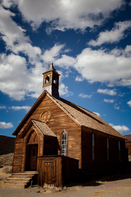 The Church in the Bodie Ghost Town, California State Park