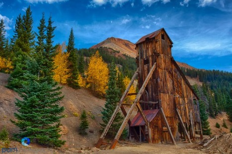 Yankee Girl Mine near Silverton, CO
