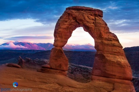 Delicate Arch Sunset, Arches National Park, UT