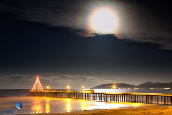 #6 Moon-set Pismo Beach Pier