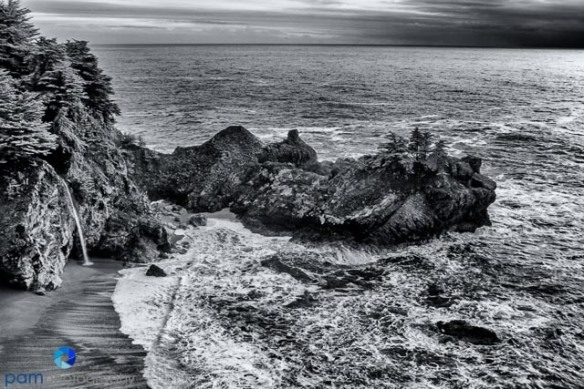 McWay Falls infrared by Mary
