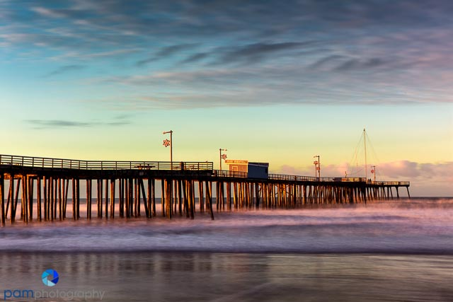 Pismo Pier by Mary