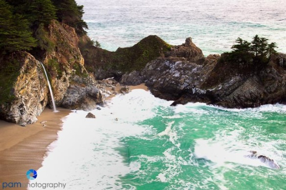 McWay Falls color by Peter