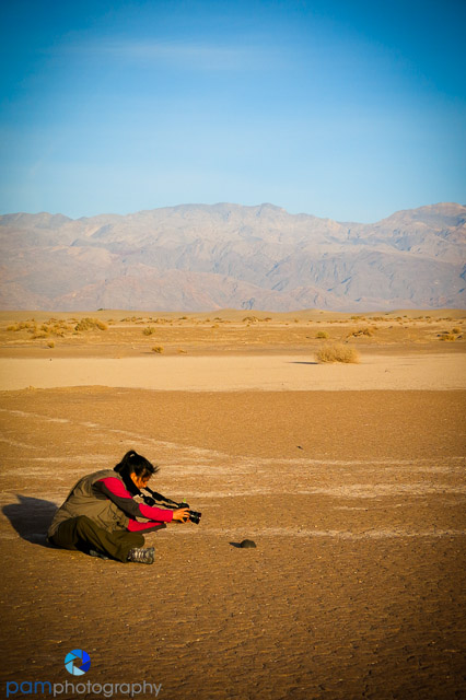 Mary in Death Valley
