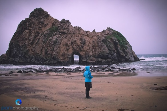 I got Mary while scouting the Pheiffer Beach Arch in Big Sur, during a rain storm