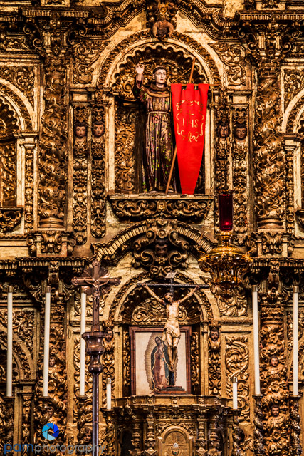 Golden Altar Close-up