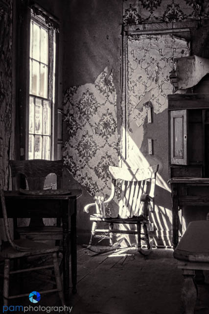 A haunting look into one of the houses