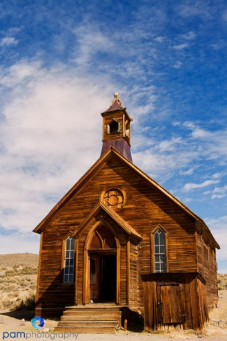 The church is probably the most photographed building in Bodie