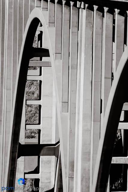 Big Creek Bridge detail by Mary