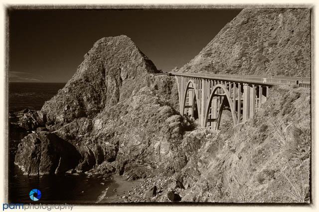 Big Creek Bridge by Peter