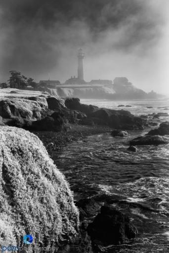 Pigeon Point Lighthouse north of Santa Cruz, CA