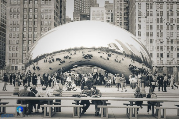 At Chicago's Bean