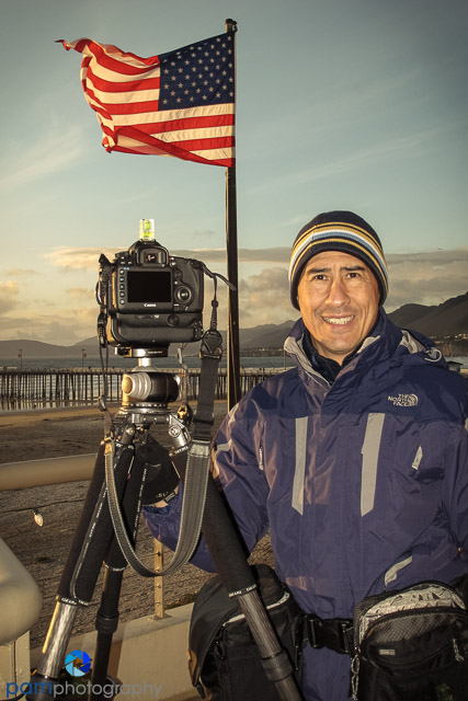 My Canon 5D Mark III in Pismo Beach, CA