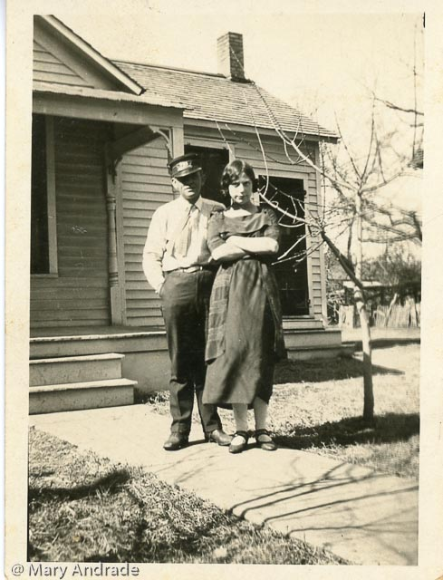 Albert Handy and Wife