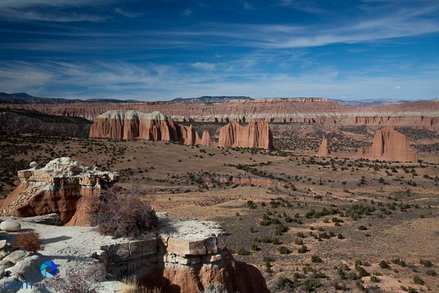 Original  from Cathedral Valley in Capitol Reef National Park