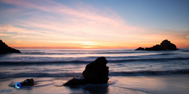 Pfeiffer Beach in Big Sur, CA