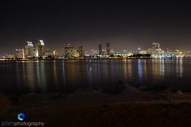 Original San Diego Skyline