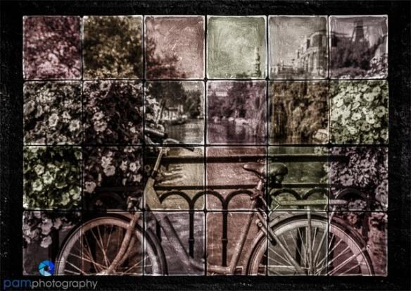 Color Bike Mosiac