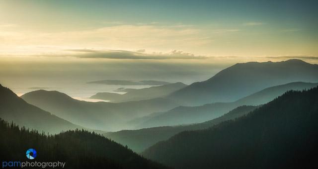 #10 Hurricane Ridge sunrise, Olympic National Park