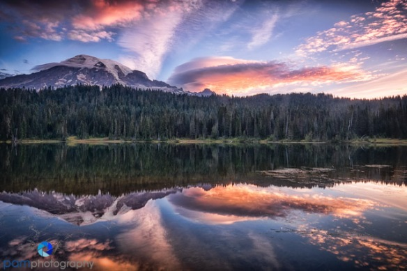 #1 Reflection Lake, Mount Rainier National Park, WA