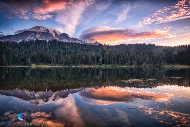 #1 Reflection Lake, Mount Rainier National Park, WA