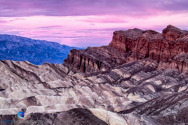 Zabrieski Point, Death Valley