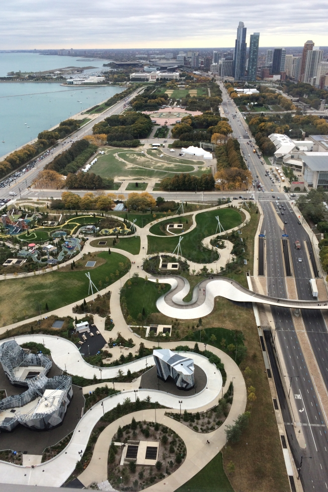 View of Chicago's Millennial Park
